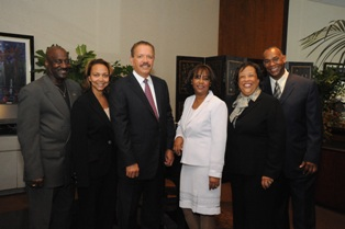 Charles Pulliam, Debbie Lumpkin, Harry Hutchinson, Afarah Board, Patricia Click, and David A. Ford